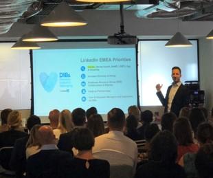 Discussing Linkedin EMEA priorities.